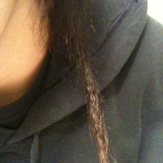 This is my new baby dread lol just started 2 days ago does it look right?