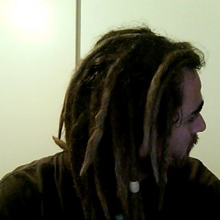 I love the natural color of my dreads!