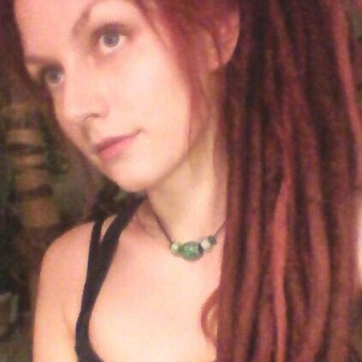 red hair natural dreads