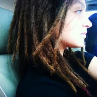 MY DREADLOCKS CURRENTLY @ ABOUT 3 1/2 MONTHS
