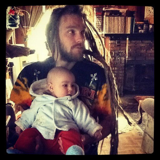 dady and son