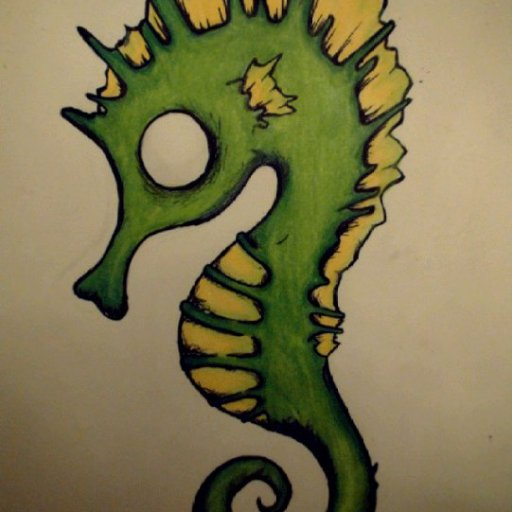 """""""I want to be a little seahorse"""""""