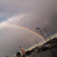 Double rainbow!!!