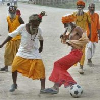 babas world cup football...allahabad