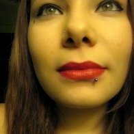 New lip piercing. :)