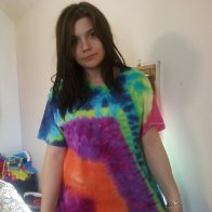My new tie dye shirt