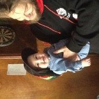 Ezekias and Daddy