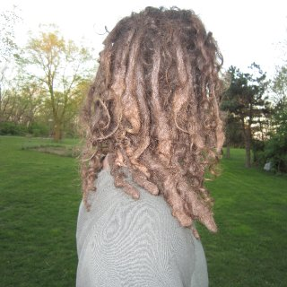 Don't do anything to your hair but wash and seperate and in 10 months you too could have this :)