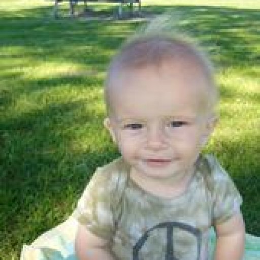 Jackson when he was wee
