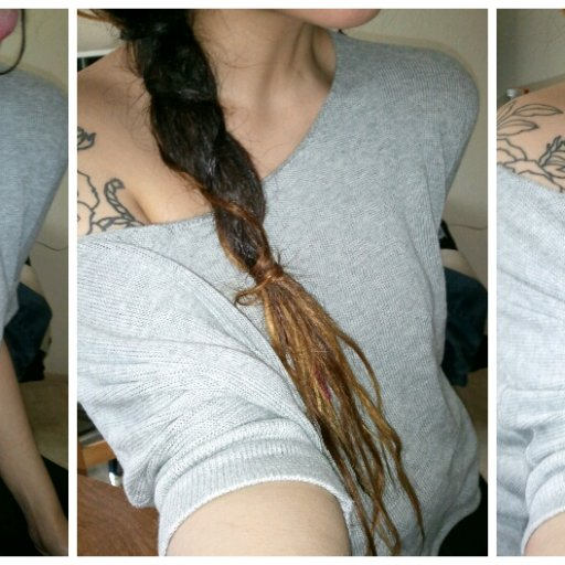 Dread wrapped dreads (04/28/12)