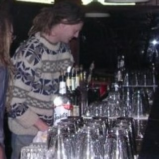 Back in my bartender days in Milwaukee circa 2002 :)