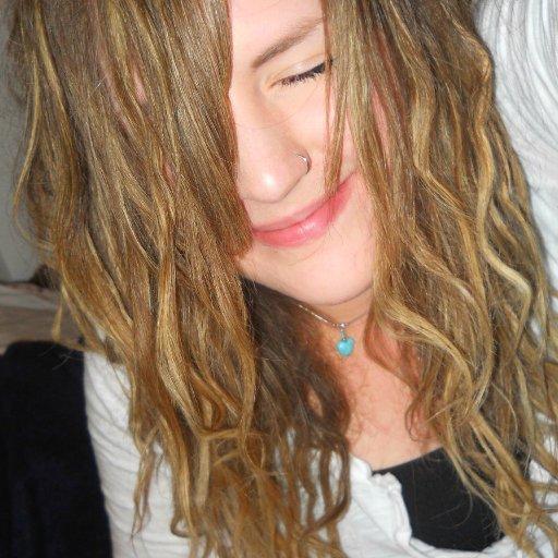 Fuzzy little hippie girl