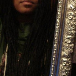 Synthetic dreads.