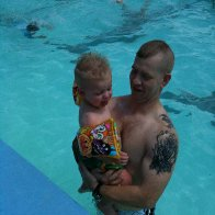Hubby and the boy