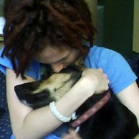 Me and my pup Pepper :)