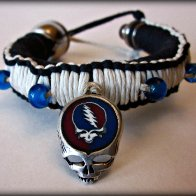 Steal Your Face B/W Tokewear Bracelet