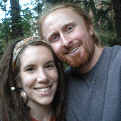 My husband Cheyne and I