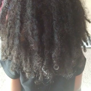 My daughter's hair update! :)