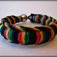 One Love Rasta Tokewear Anklet