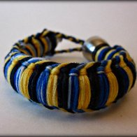Golden Blue Tokewear Bracelet