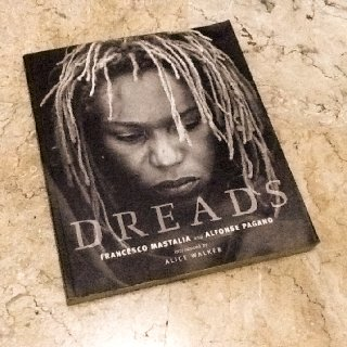 The book I bought in 2002. And I had my first set of Dreadlocks in 2005.