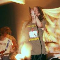 Singing with my Punk band in Tacoma, Washington