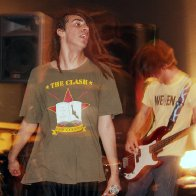 Singing with my Punk band in Tacoma, Washington
