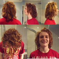 dreads at 7 weeks