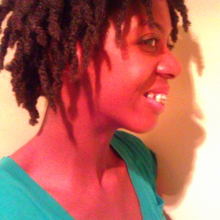this is a loose twist method that i used to start my journey. this was my first day of my loc'ing journey.