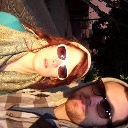 loving the sun in morrocco