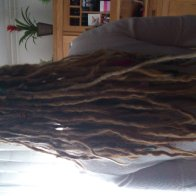 Long blonde dreads