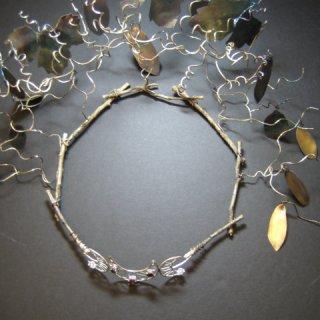 Sterling Silver, Cubic Zirconia, Garnets