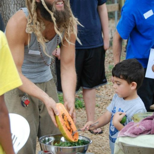 Teaching Kids about Natural Food