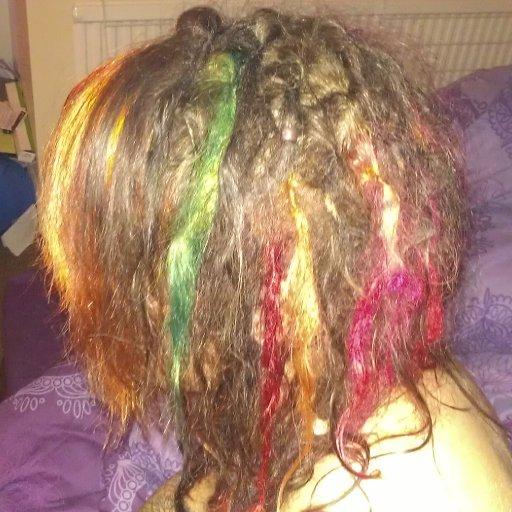 rainbow dreads
