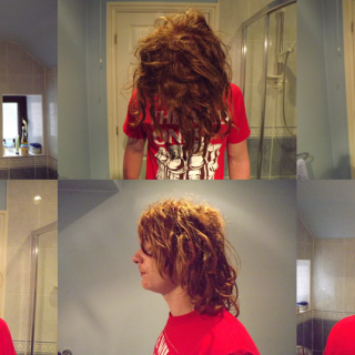 11 Weeks- Great progress! Some nice thickening of the younger locks and generally more knotty.