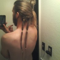 First two dreads