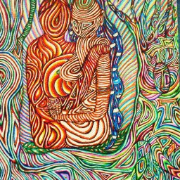Psychedelic Surrealism Art Visionary Drawing