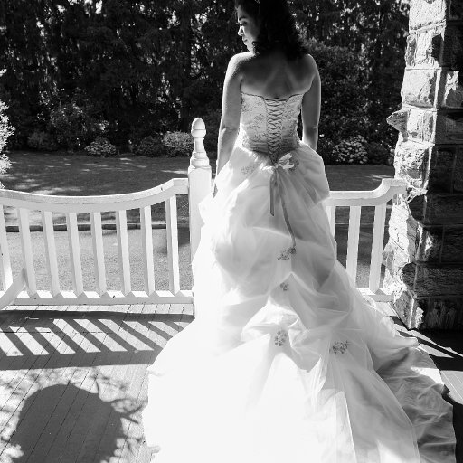This dress is like love: a flowing river