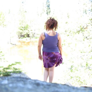 Me visiting Gerle Creek Reservoir in the El Dorado National Forest, Sierra's.