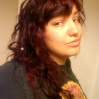 I guess I can muster up a smile in the morning... Just colored my hair yester-eve.
