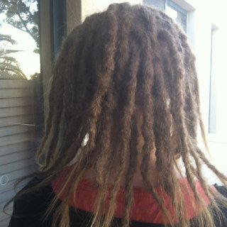 First day of dreads :)