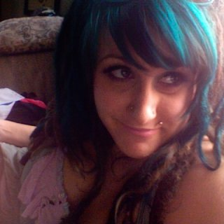 Put some Teal in my hair in July 2012