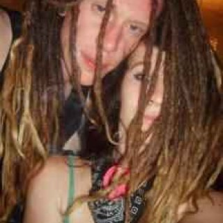 Picture from 2009 of my friend Will and I. I fell in love with his dread locks <3 He's beautiful (: