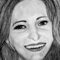 This is a portrait of my mum I did in charcoal