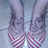New Foot Tattoos