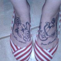 New Foot Tattoos