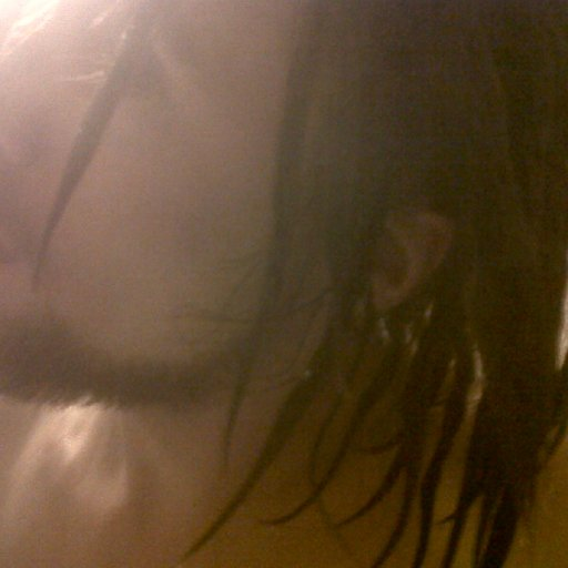 First rince close up dreads