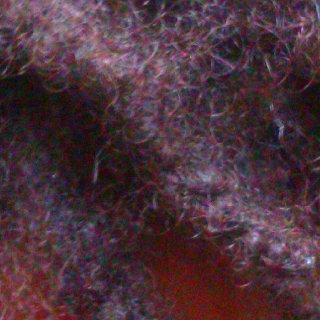 I just wanted to show you guys an zoomed in view of my loc texture. As you can see they are cultivated locs. My frizzy texture can give off an appearance of faster loc'ing but I like to explain to people that this is not the case.