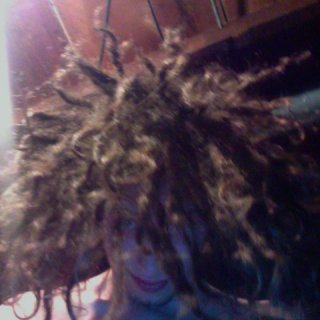 It raining dreadlocks