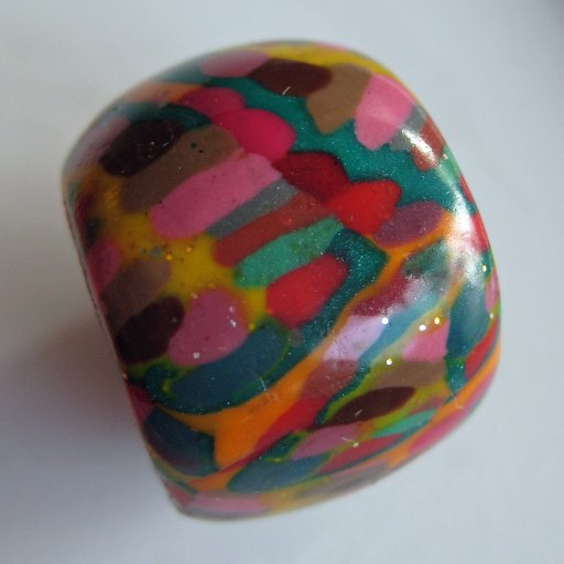 dots and lines bead